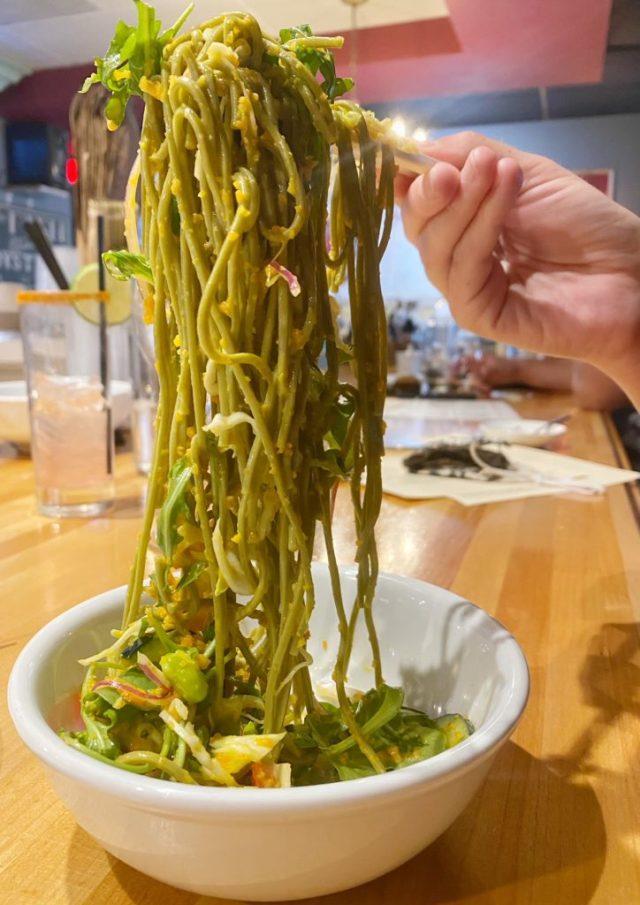 Other Mama is a vegan-friendly restaurant in Las Vegas. For more vegan options in Las Vegas, visit www.vegansbaby.com