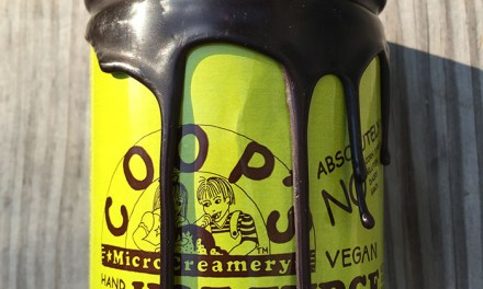 Coop's MicroCreamery Hand Made Vegan Hot Fudge