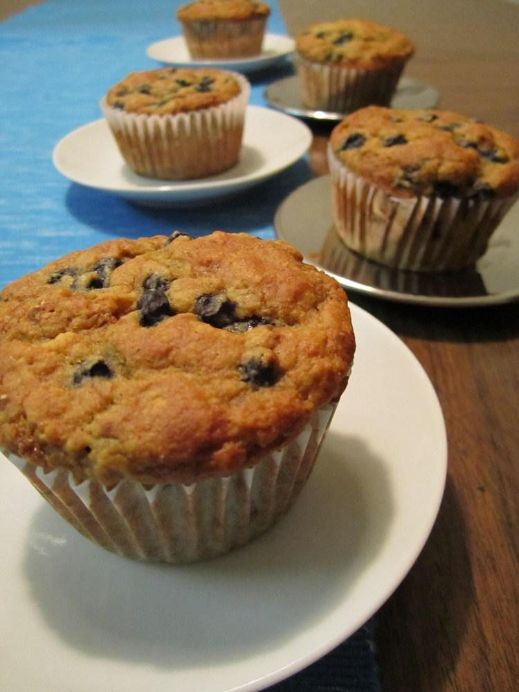 Fabulous Vegan Blueberry Muffins