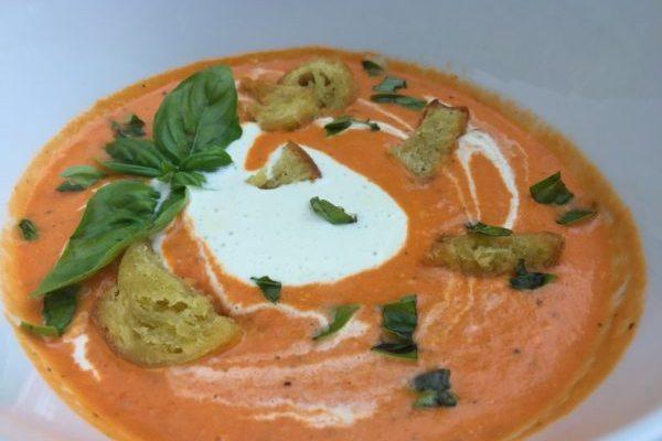 Cashew Creamy Tomato Soup