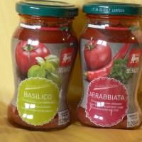 Delhaize Basilico and Arrabbiata Sauces (Delhaize)