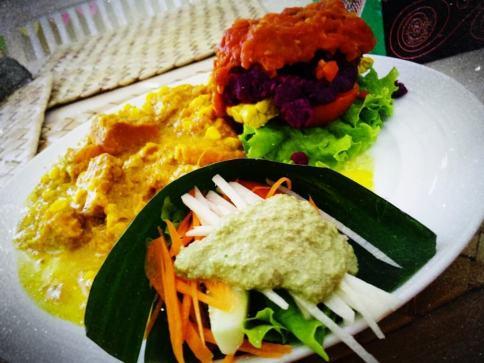 Bali raw burger (Medium)