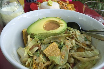 Vegan Eagle: Avocado Bowl