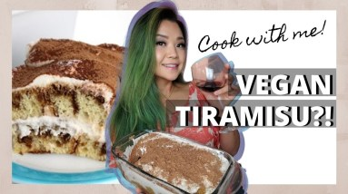 I Tried Making VEGAN TIRAMISU // Cook With Me