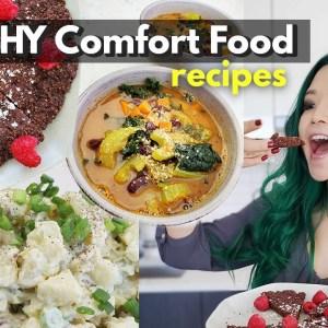 VEGAN COMFORT FOOD RECIPES (BUT HEALTHY)
