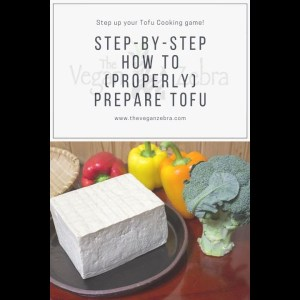 How To Prepare Tofu Correctly (Step by Step Video and Instructions on How to Prepare Tofu)