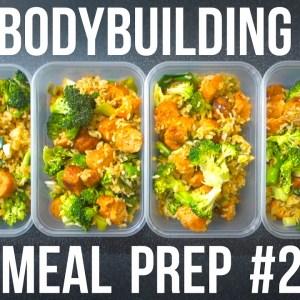VEGAN BODYBUILDING MEAL PREP ON A BUDGET #2