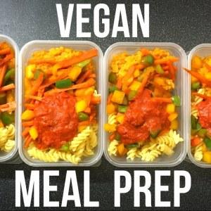 VEGAN MEAL PREP | Cheap, Healthy Meals