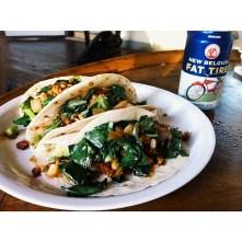 collard tacos