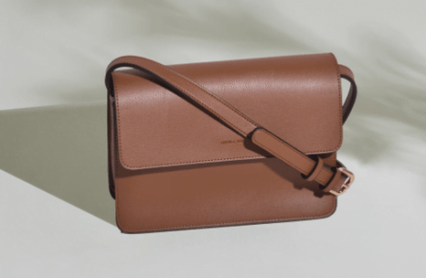 Brown cruelty free crossbody bags