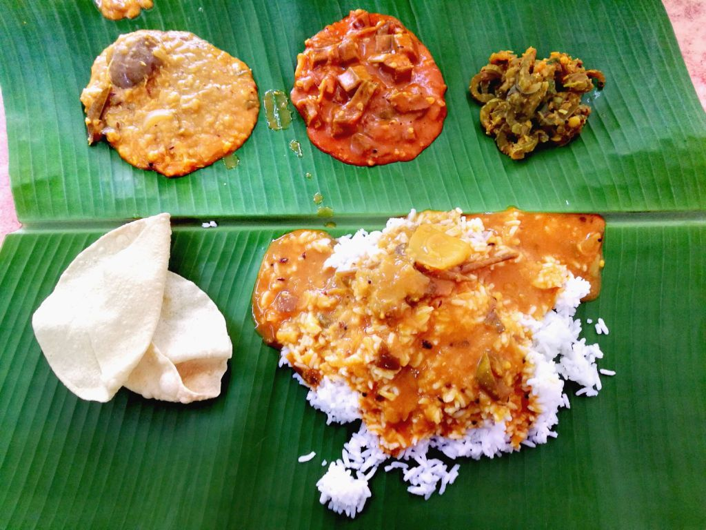 Indian food in Penang