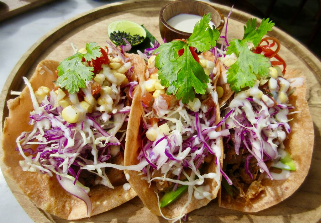 veganism for beginners guide - 3 vegan tacos