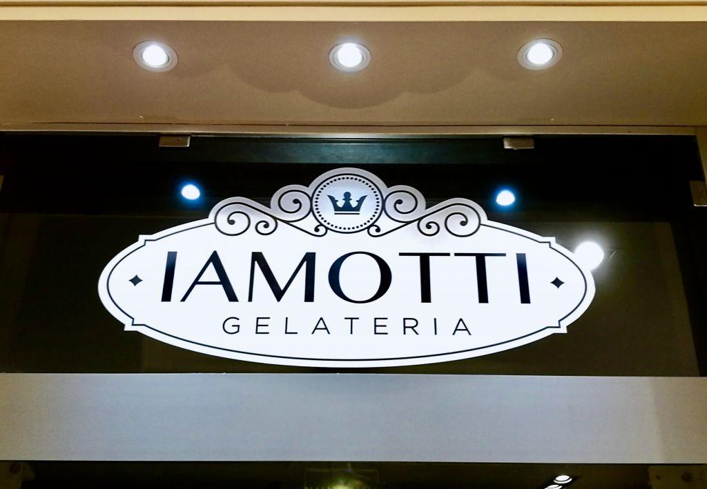 Iamotti Gelato Rome Sign