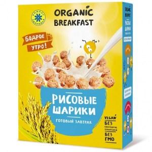 """Компас Здоровья. Завтраки сухие """"Рисовые шарики"""""""