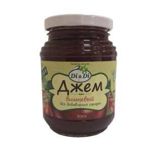 Джем вишневый со стевией (без сахара, глютена) Di&Di, 300г.