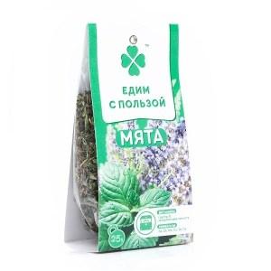 """Мята листья """"Едим с пользой"""", 25 гр"""