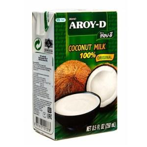 Молоко кокосовое Aroy-D Original 19%, 250 мл