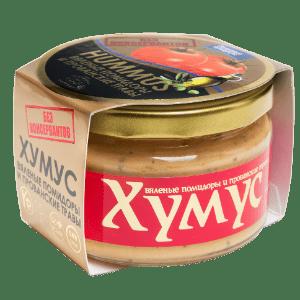 """Хумус с вялеными помидорами и прованскими травами """"Тайны Востока"""", 200 гр"""