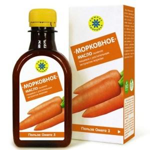 """Масло льняное Морковное """"Компас здоровья"""", 200 мл"""