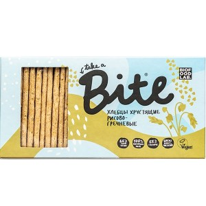 Bite. Хлебцы хрустящие рисово-гречневые 150 гр