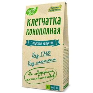 """Клетчатка конопляная с морской капустой """"Компас здоровья"""", 150 гр"""