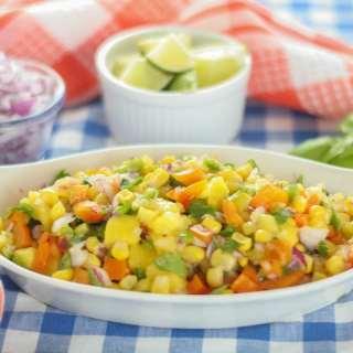 10-Minute Mango and Sweet Corn Salsa