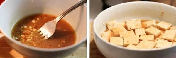 Marinate Tofu