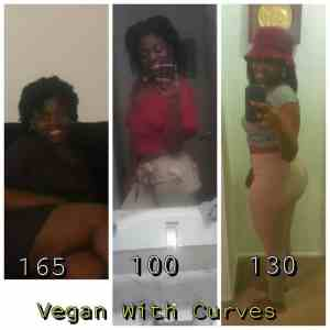 vegan with curves transformation