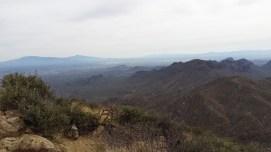 Views climbing up to Wasson Peak