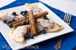 Blueberry Yogurt Pierogi