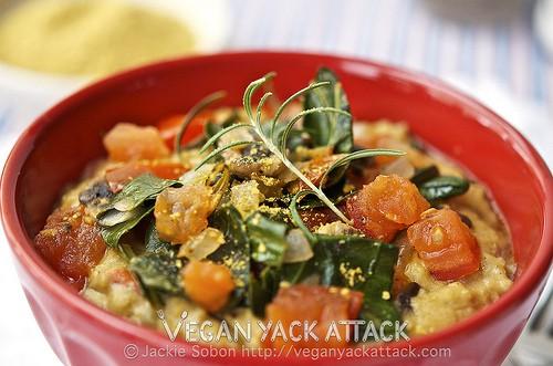Savory Rosemary Veggie Oats