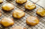 Gluten-Free Spiced Chocolate Cookies with Pumpkin Icing