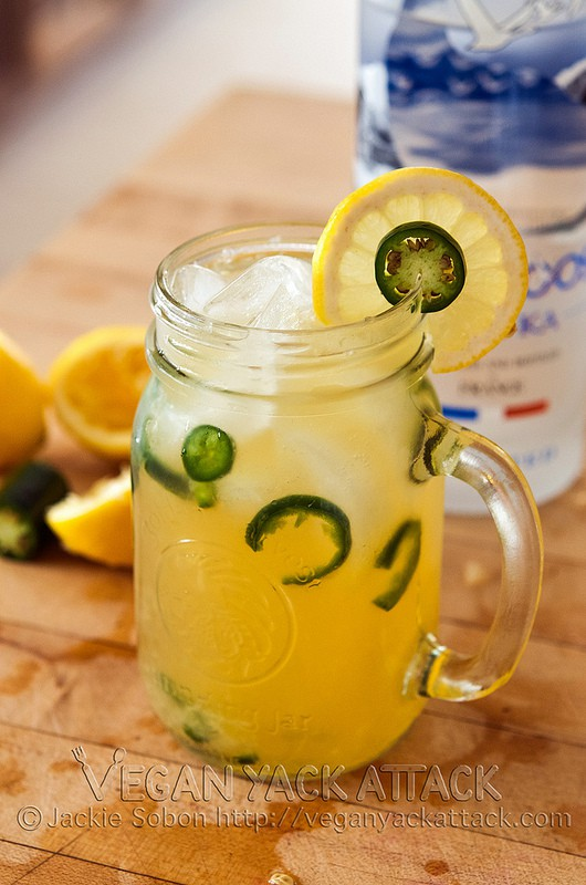 Spicy Vodka Lemonade
