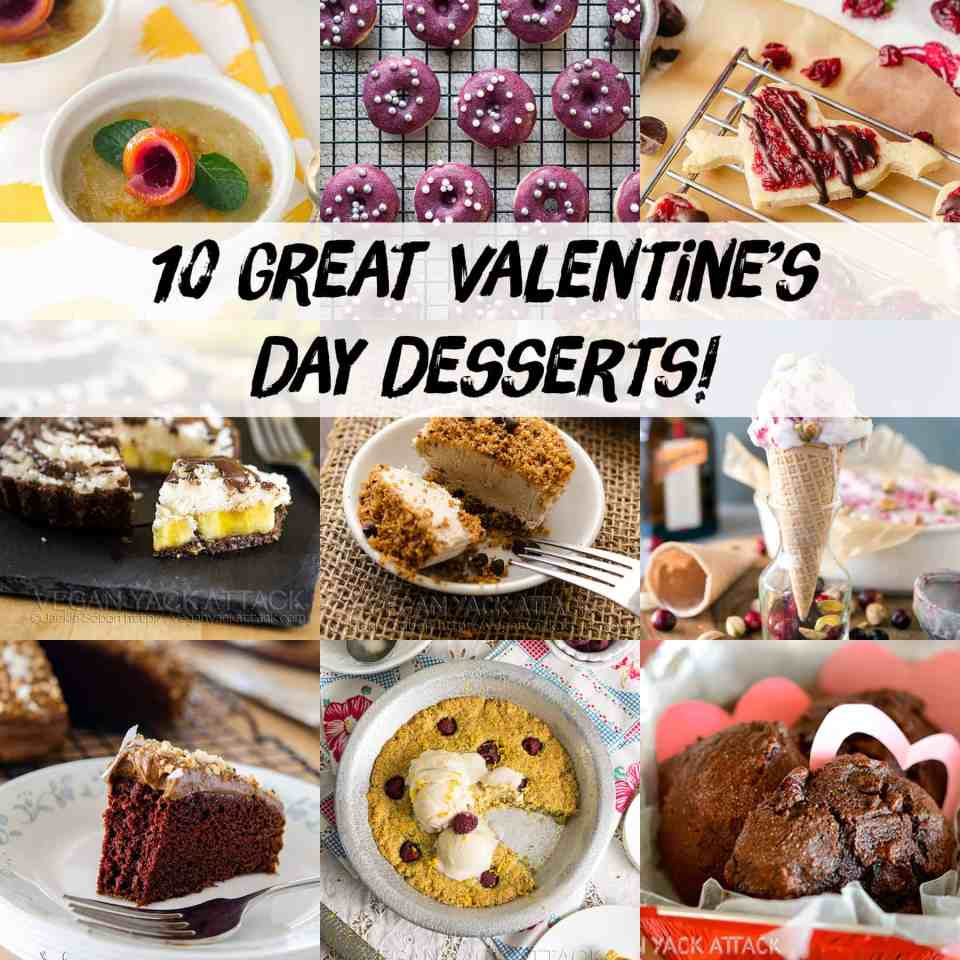 10 Great Vegan Valentine's Day Desserts