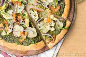 Pesto Potato Pizza