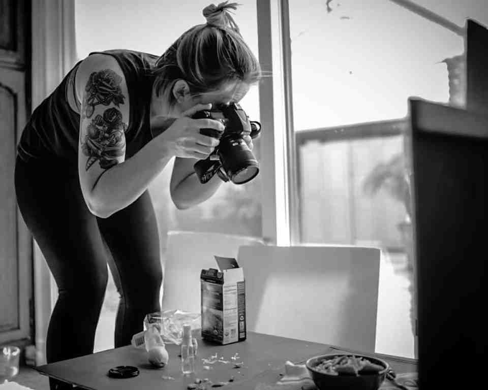 Jackie Sobon of Vegan Yack Attack - Food Photography