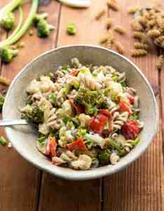 Roasted Broccoli Pasta Salad