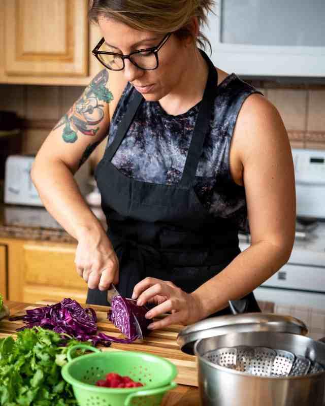 Jackie Sobon of Vegan Yack Attack