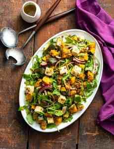 Kabocha Squash Feta Salad