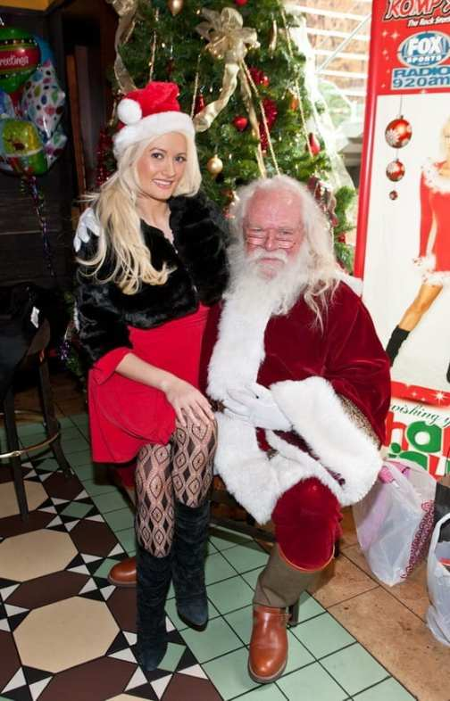 Holly Madison pictured at her Holly Jolly Toy Drive at El Segundo Sol in Las Vegas, NV on December 18, 2010. © RD/ Erik Kabik/ Retna Digital
