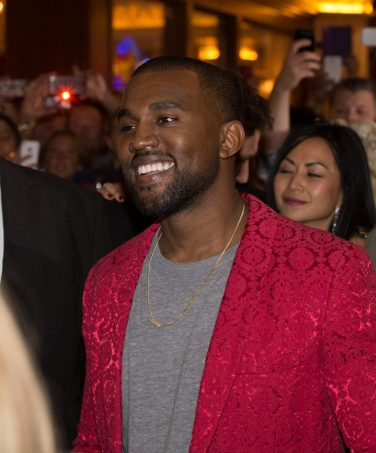 Kanye West at Kim Kardashian's Birthday at TAO Las Vegas