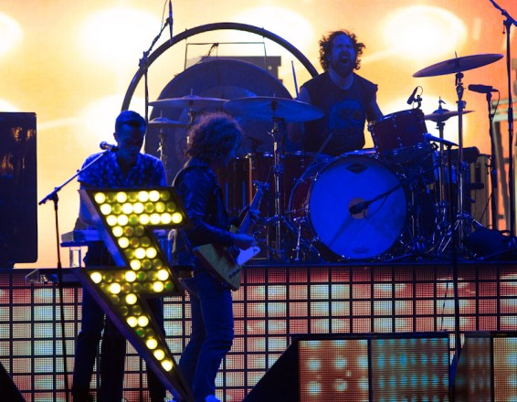 The Killers on Day 2 of the Life is Beautiful Festival