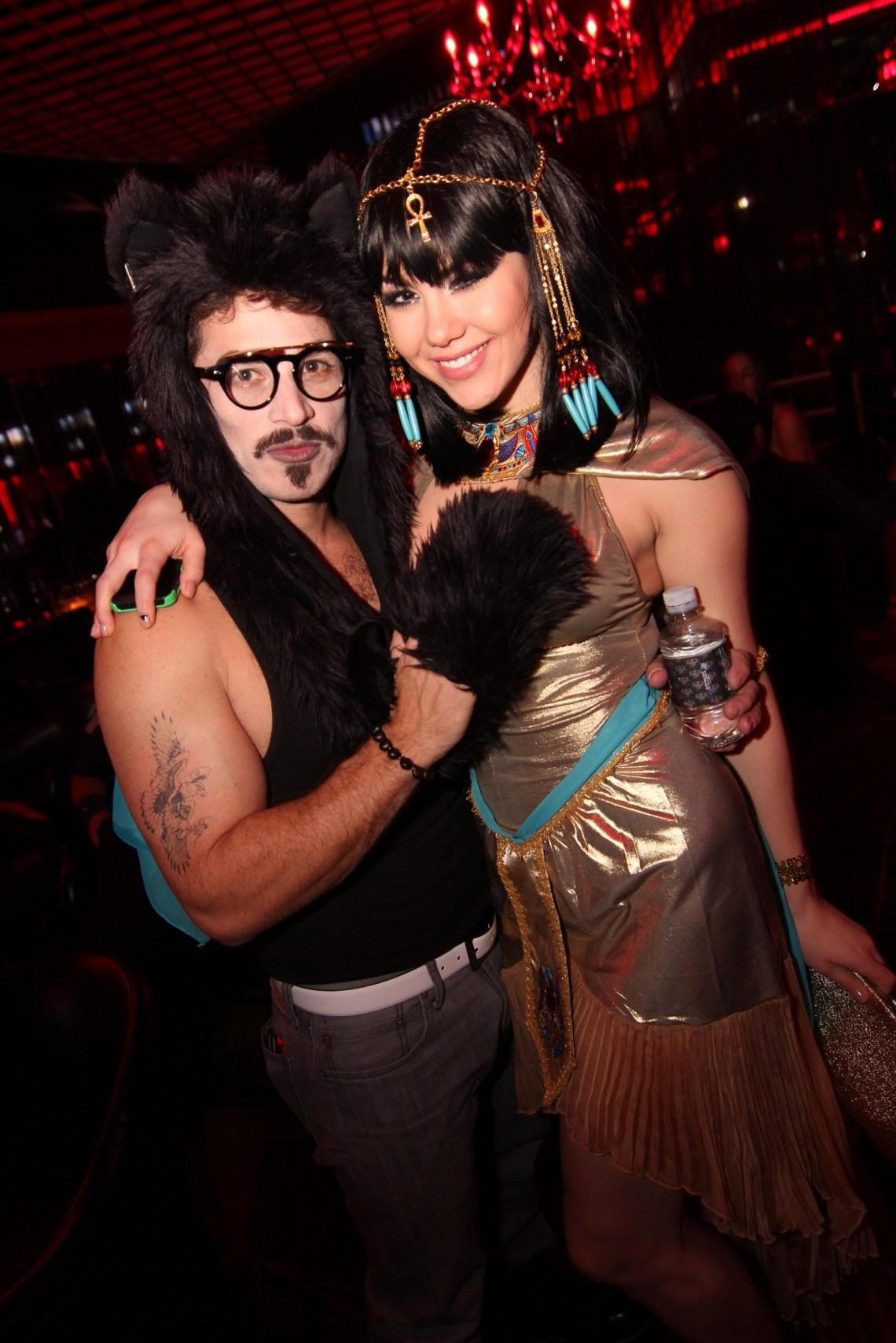 Mark Shunock and Claire Sinclair  inside Posh Boutique Nightclub at Crazy Horse III