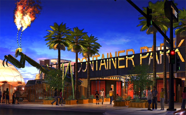 Downtown Container Park - Las Vegas