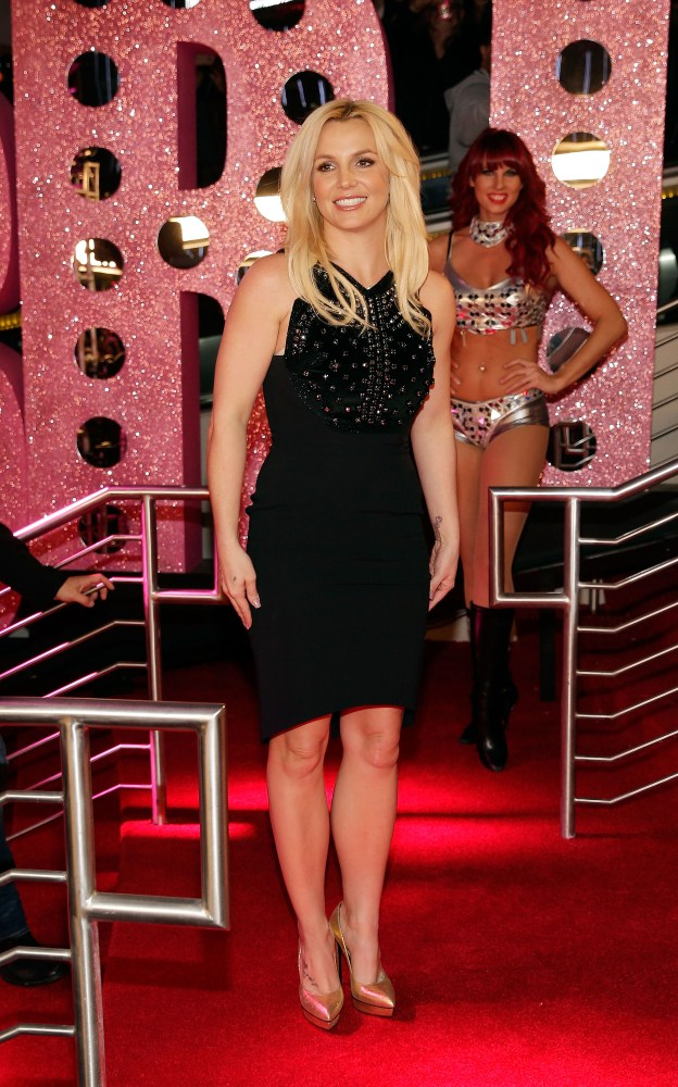 Britney Spears arrives at her welcome event at Planet Hollywood Resort & Casino in Las Vegas on Tuesday, Dec. 3. Photo Credit – Isaac Brekken/WireImage