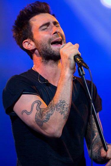 Qualcomm Keynote address at CES with Maroon 5 at The Venetian in Las Vegas, NV