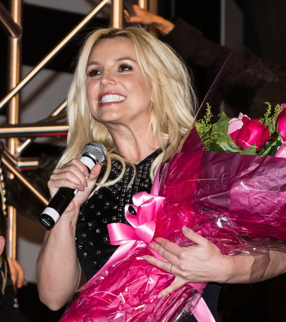 Britney Spears official arrival in Las Vegas, NV
