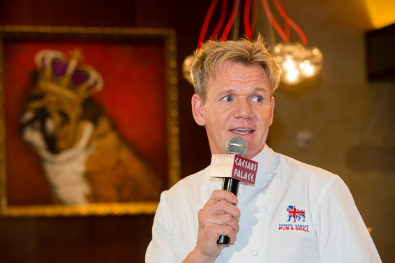 Gordon Ramsay opens BurGR & Pub & Grill in Las Vegas, NV