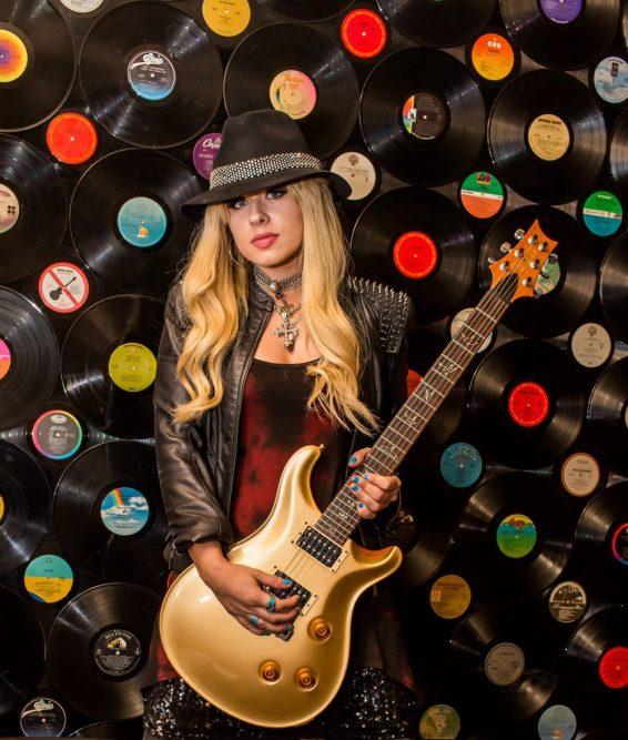 Orianthi at Vinyl at Hard Rock Hotel at Hard Rock Hotel in Las Vegas, NV