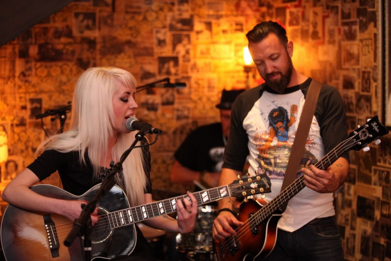 Carrie Megan Gross and Ben Carey Perform During Chandelier Sessions at Commonwealth